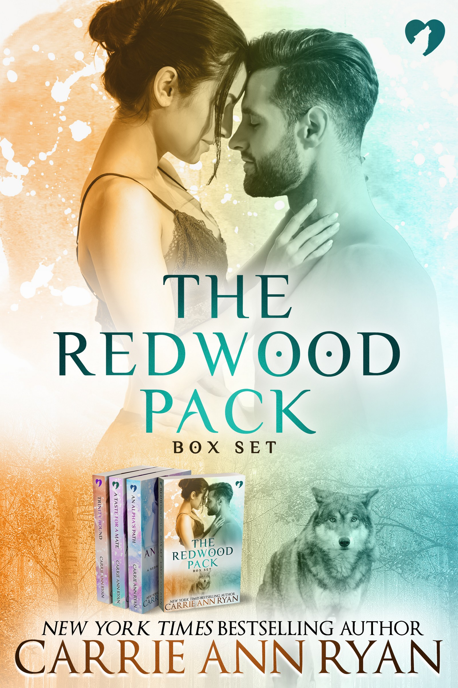 An Alphas Path Redwood Pack 05 By Carrie Ann Ryan